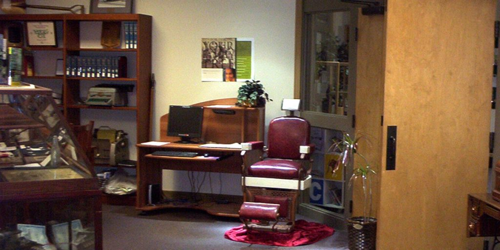 Find items from the past in our genealogy room