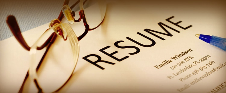 Resources to help you prepare a resume